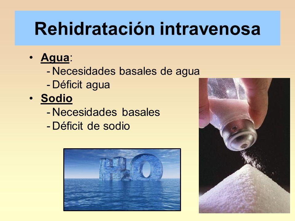 Rehidratación intravenosa