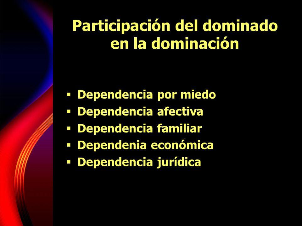 Participación del dominado en la dominación
