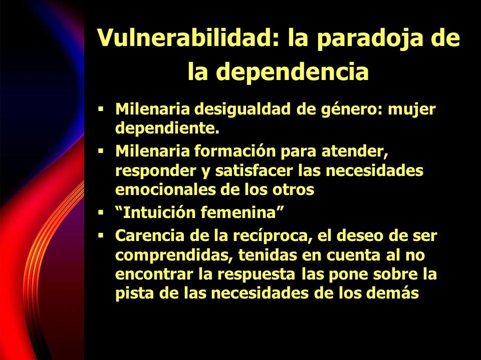 Vulnerabilidad: la paradoja de la dependencia