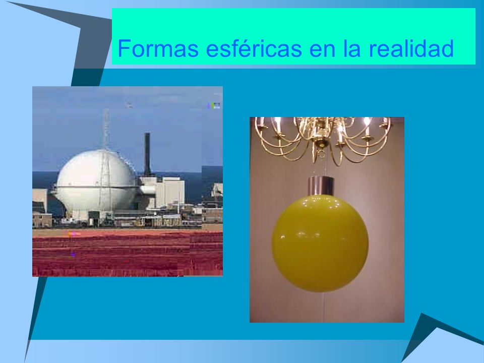 Formas esféricas en la realidad