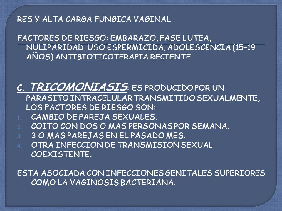 RES Y ALTA CARGA FUNGICA VAGINAL