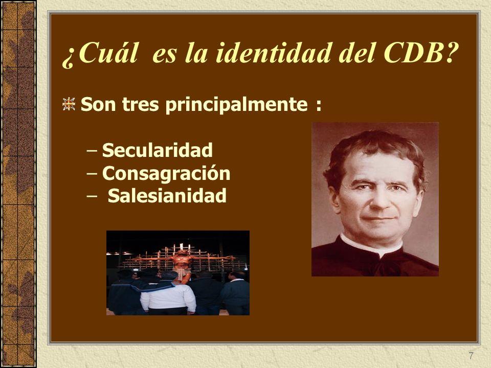¿Cuál es la identidad del CDB