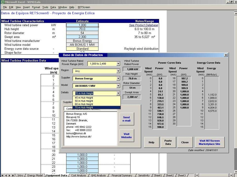 Base de Datos de Productos