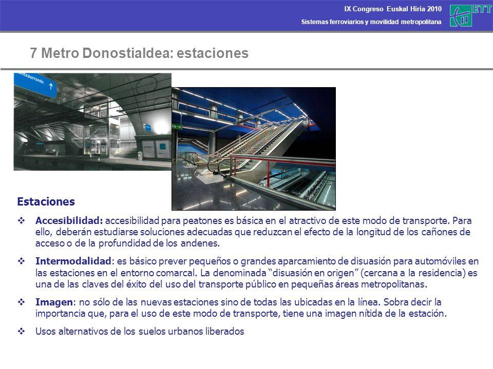 7 Metro Donostialdea: estaciones