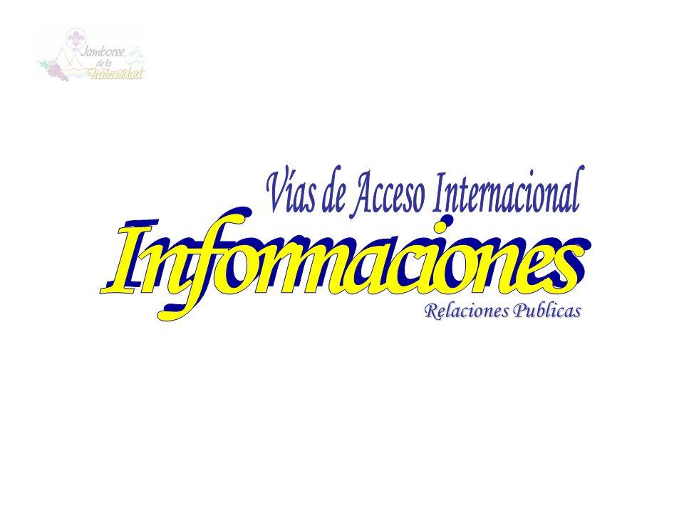 Vías de Acceso Internacional