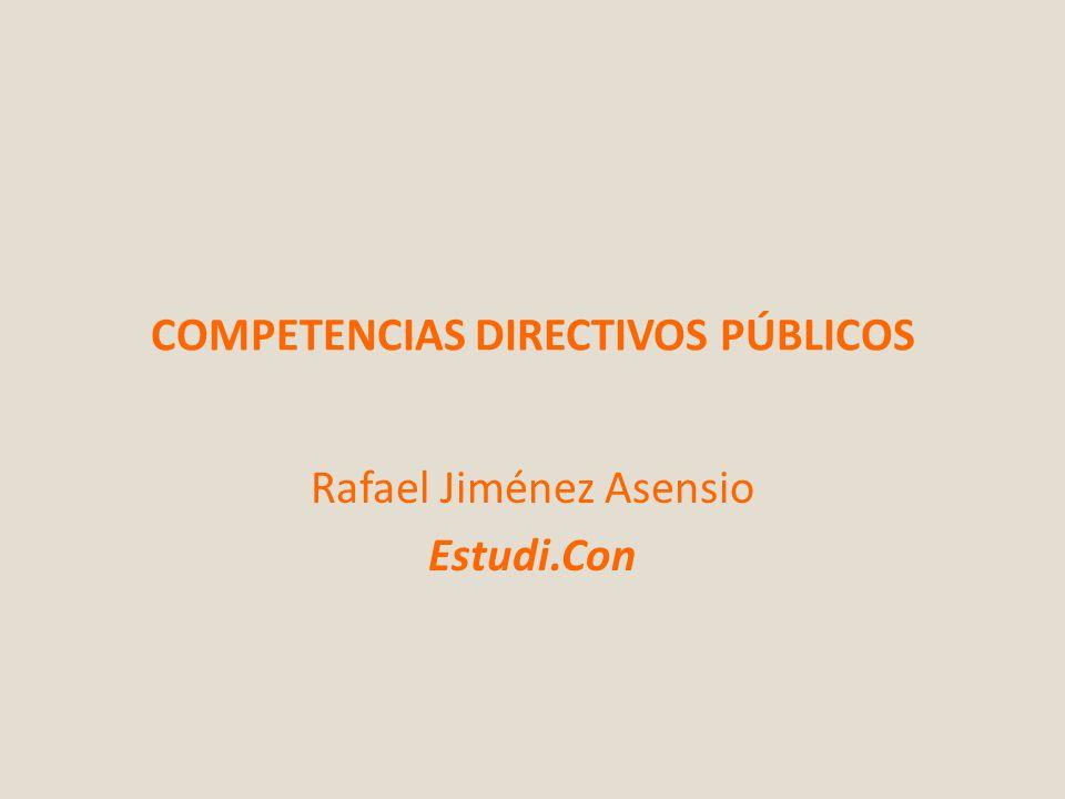 COMPETENCIAS DIRECTIVOS PÚBLICOS