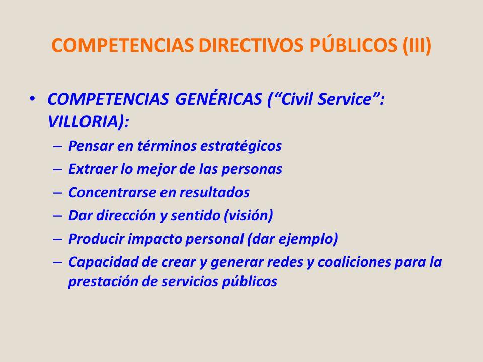 COMPETENCIAS DIRECTIVOS PÚBLICOS (III)