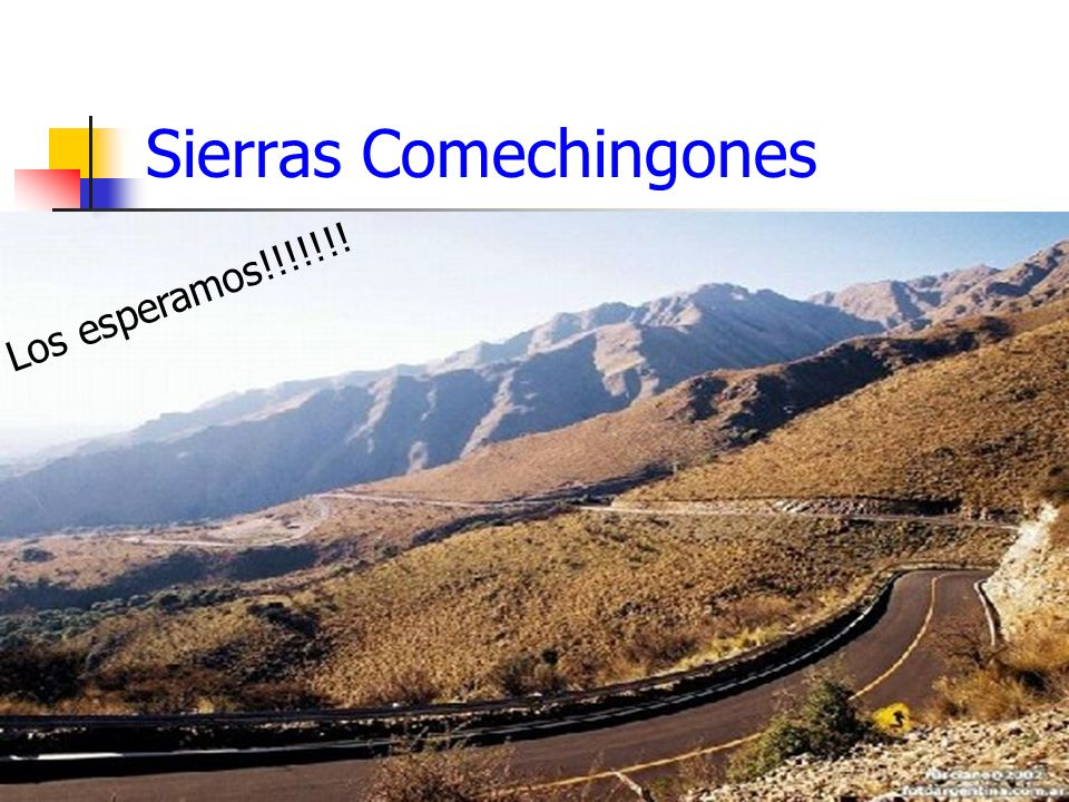 Sierras Comechingones