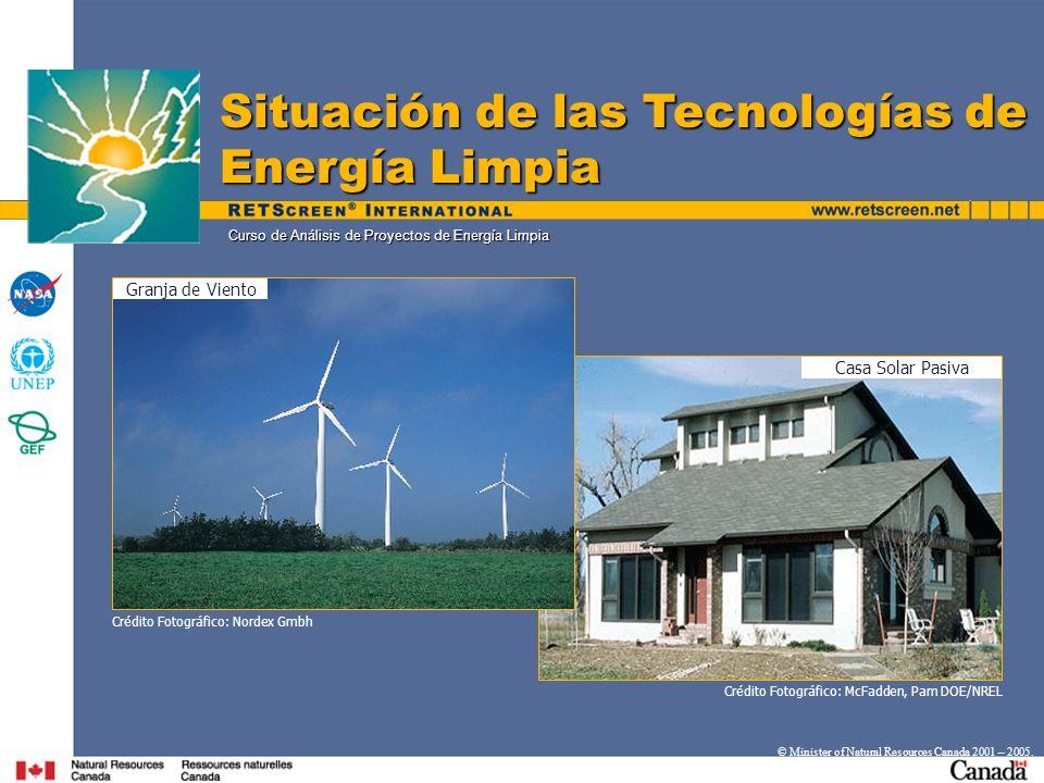 Curso de Análisis de Proyectos de Energía Limpia