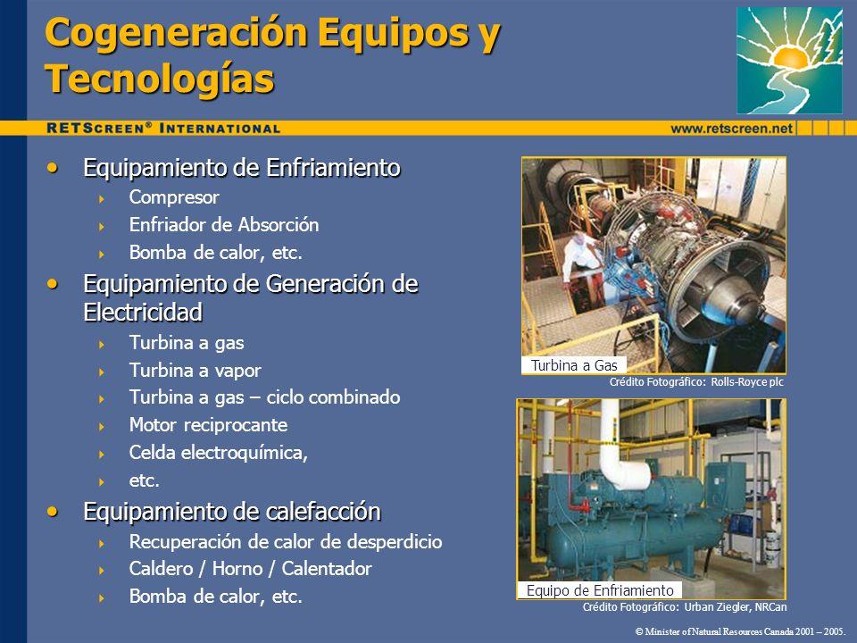 Cogeneración Equipos y Tecnologías