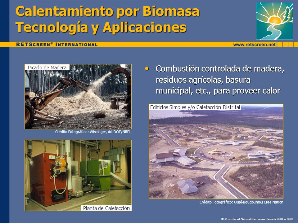 Calentamiento por Biomasa Tecnología y Aplicaciones