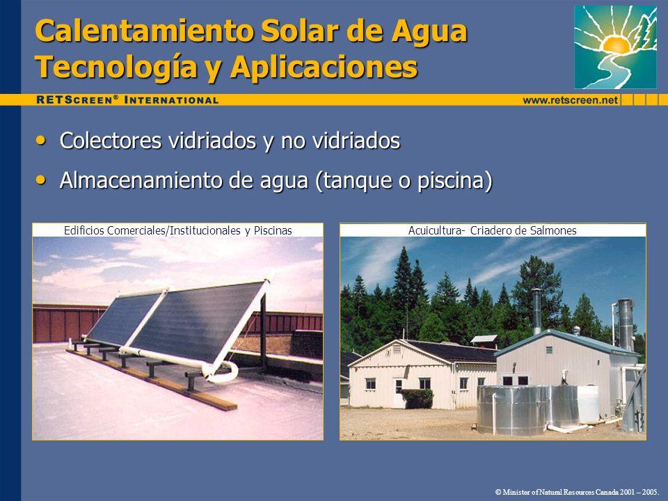 Calentamiento Solar de Agua Tecnología y Aplicaciones