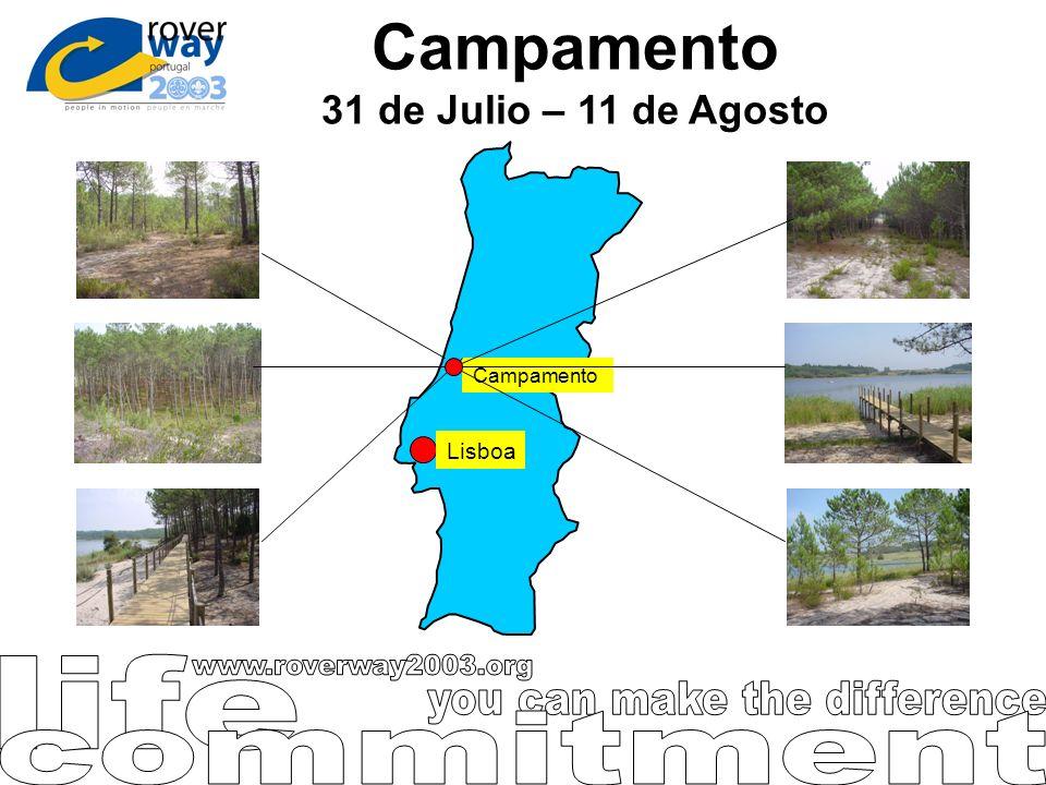 Campamento 31 de Julio – 11 de Agosto
