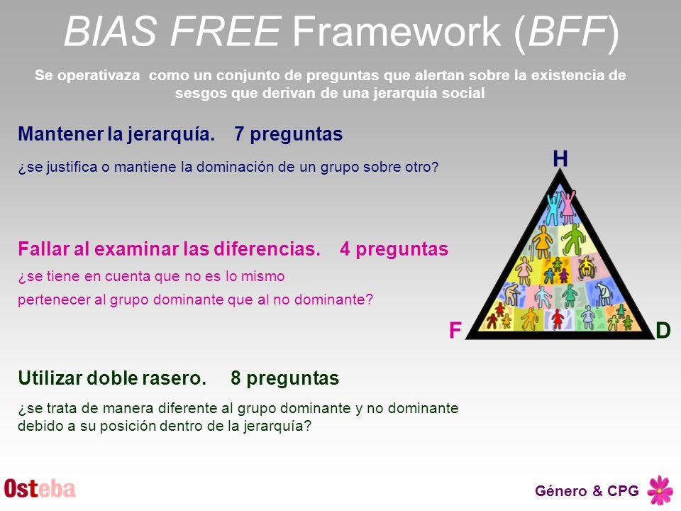 BIAS FREE Framework (BFF)