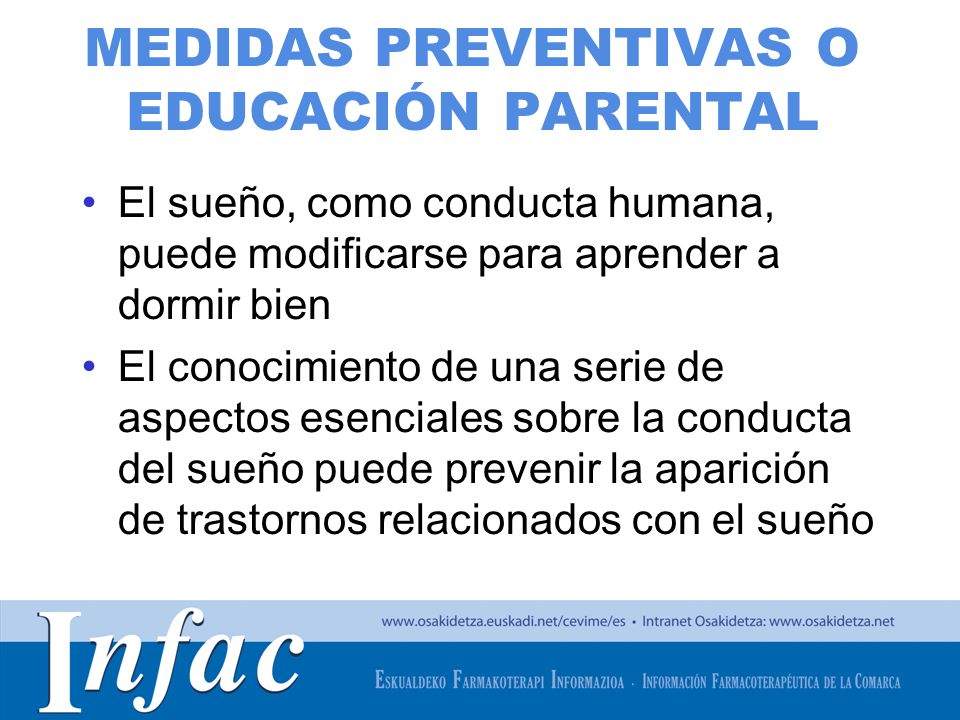 MEDIDAS PREVENTIVAS O EDUCACIÓN PARENTAL
