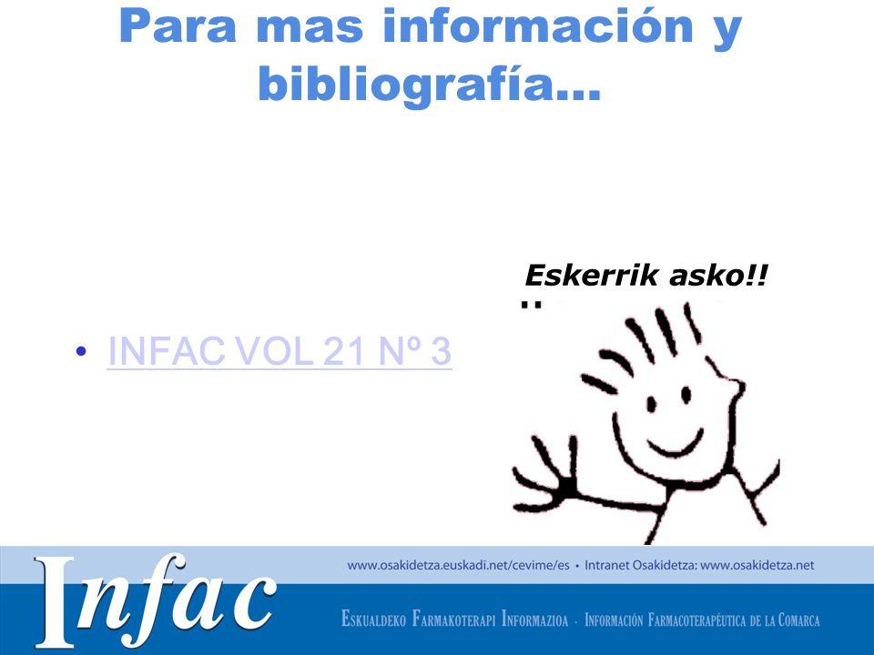 Para mas información y bibliografía…