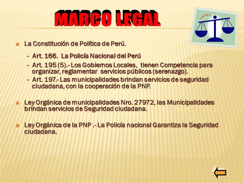 SEGURIDAD CIUDADANA POLICIA NACIONAL DEL PERU REGION PNP TACNA - ppt ...