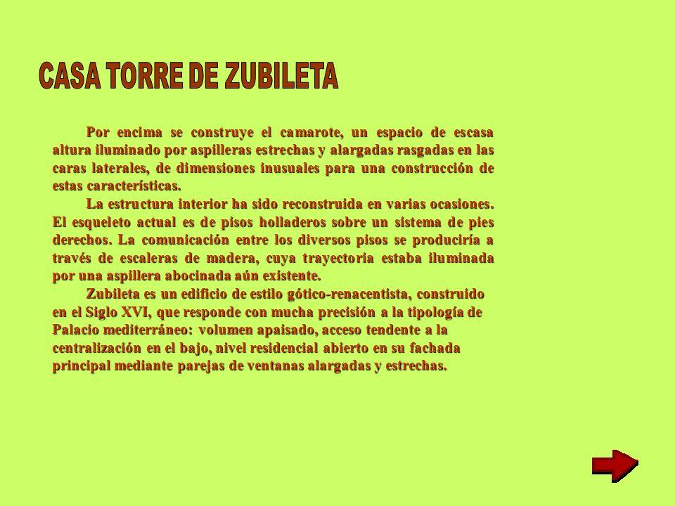 CASA TORRE DE ZUBILETA