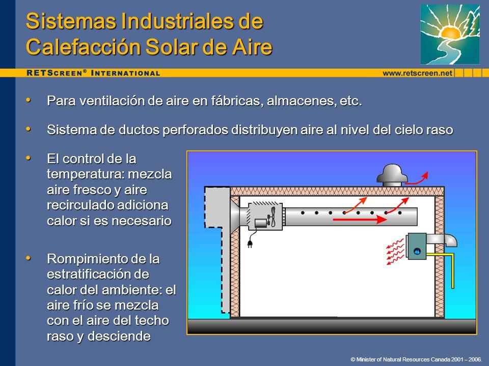 Sistemas Industriales de Calefacción Solar de Aire
