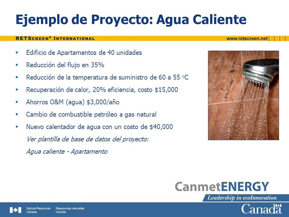 Ejemplo de Proyecto: Agua Caliente