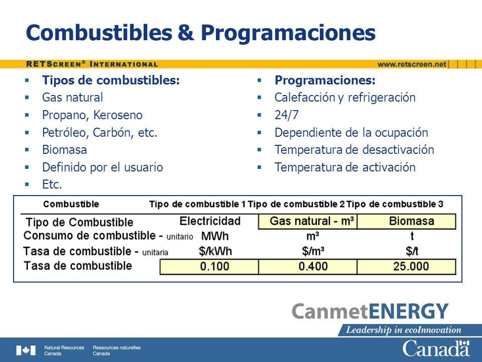 Combustibles & Programaciones