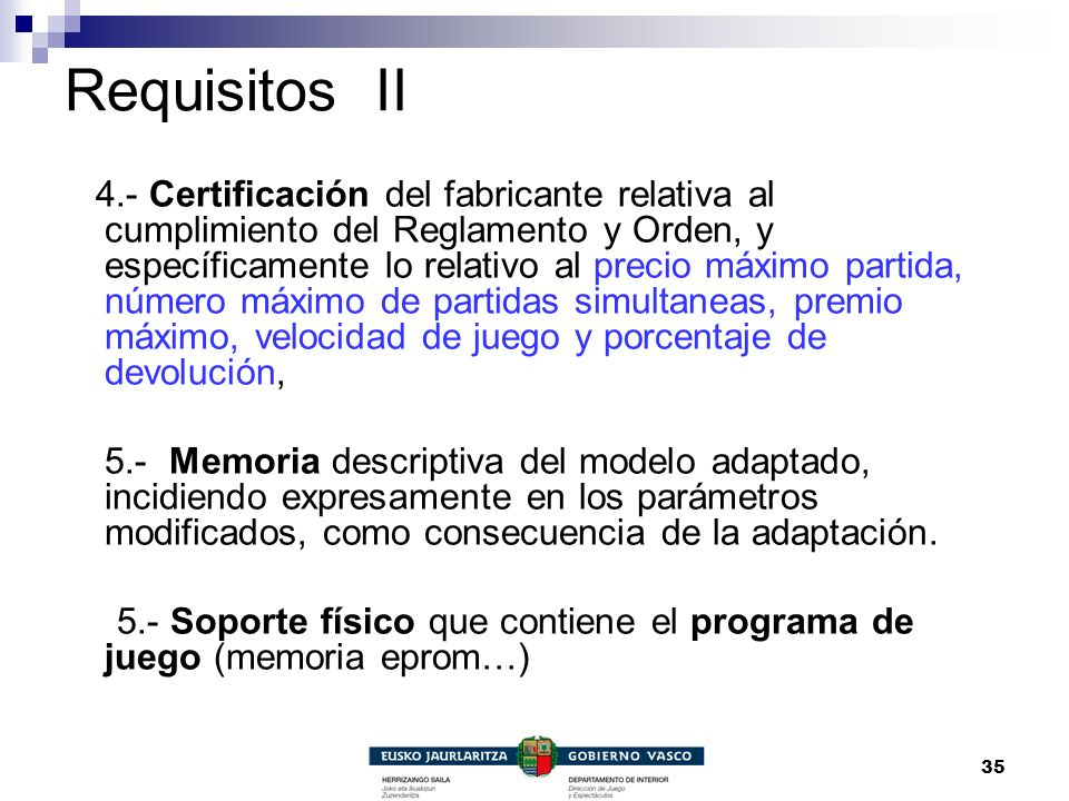 Requisitos II