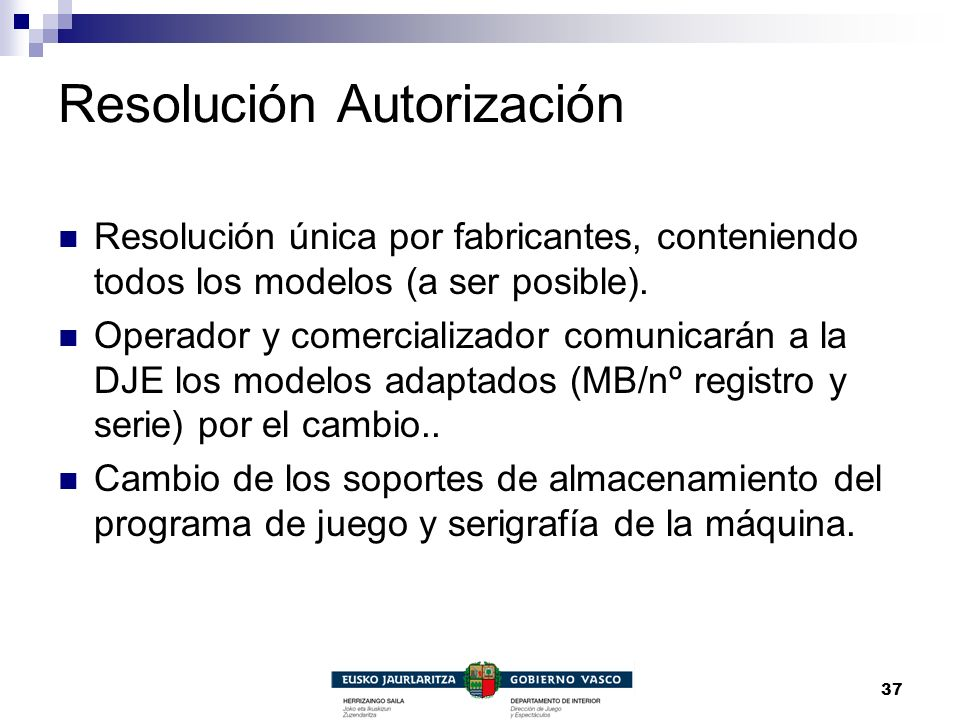 Resolución Autorización