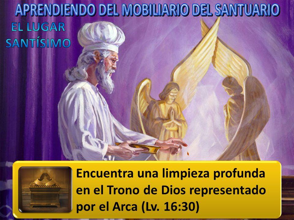 APRENDIENDO DEL MOBILIARIO DEL SANTUARIO