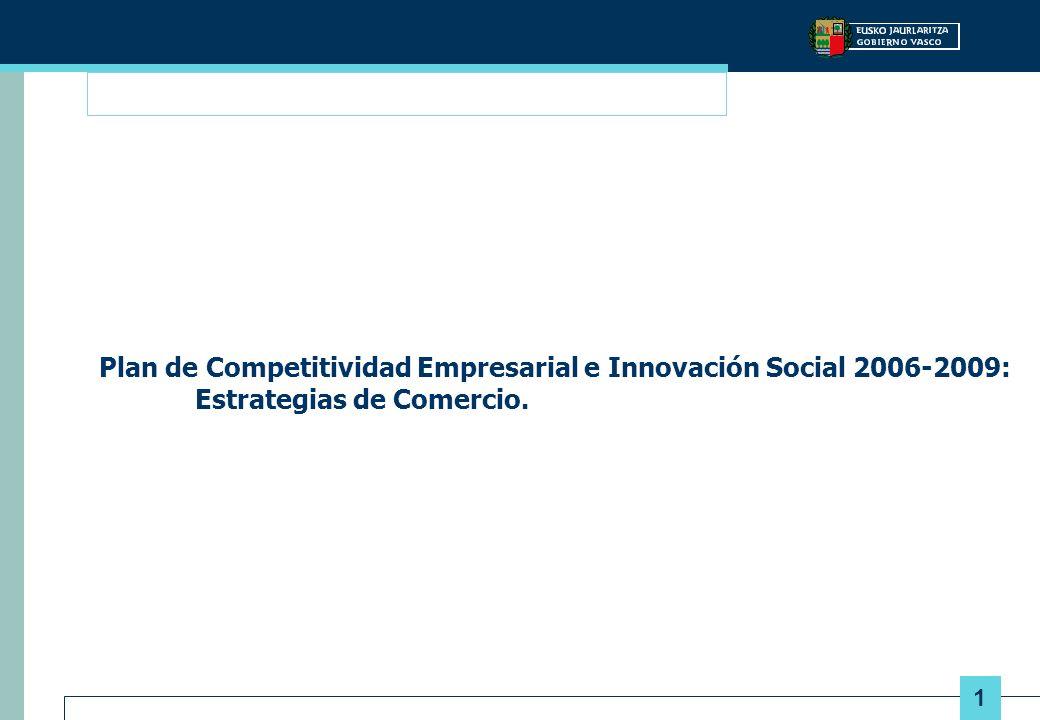 Plan de Competitividad Empresarial e Innovación Social 2006-2009: