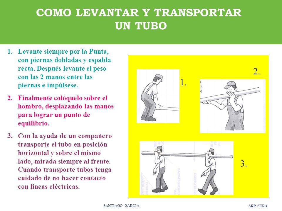 COMO LEVANTAR Y TRANSPORTAR