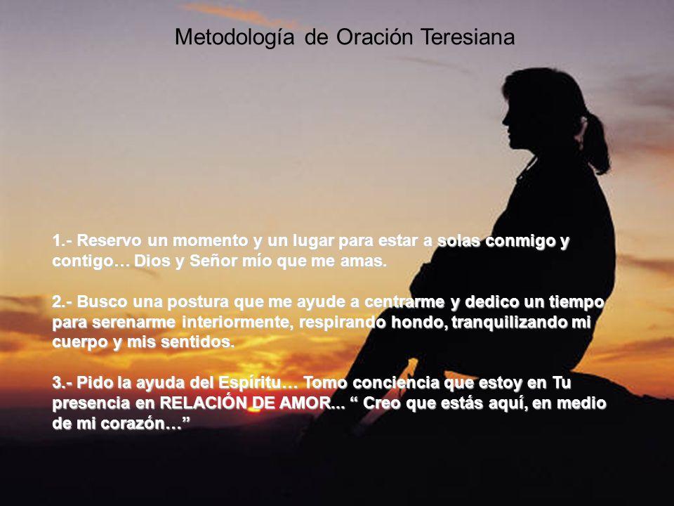 Metodología de Oración Teresiana