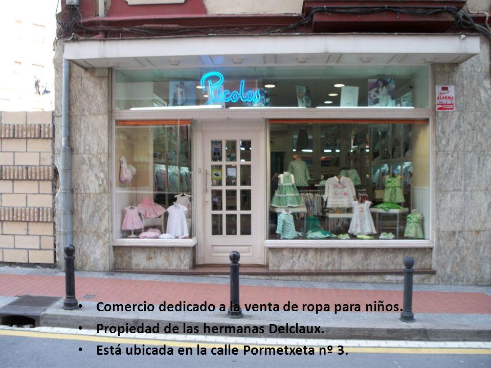 PICOLOS Comercio dedicado a la venta de ropa para niños.