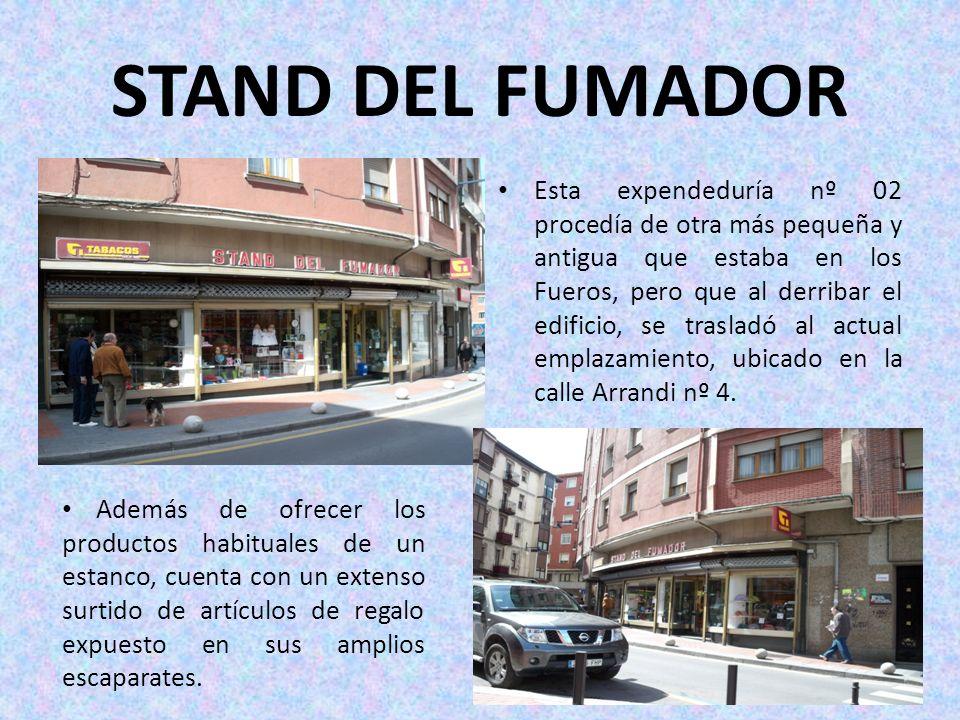 STAND DEL FUMADOR