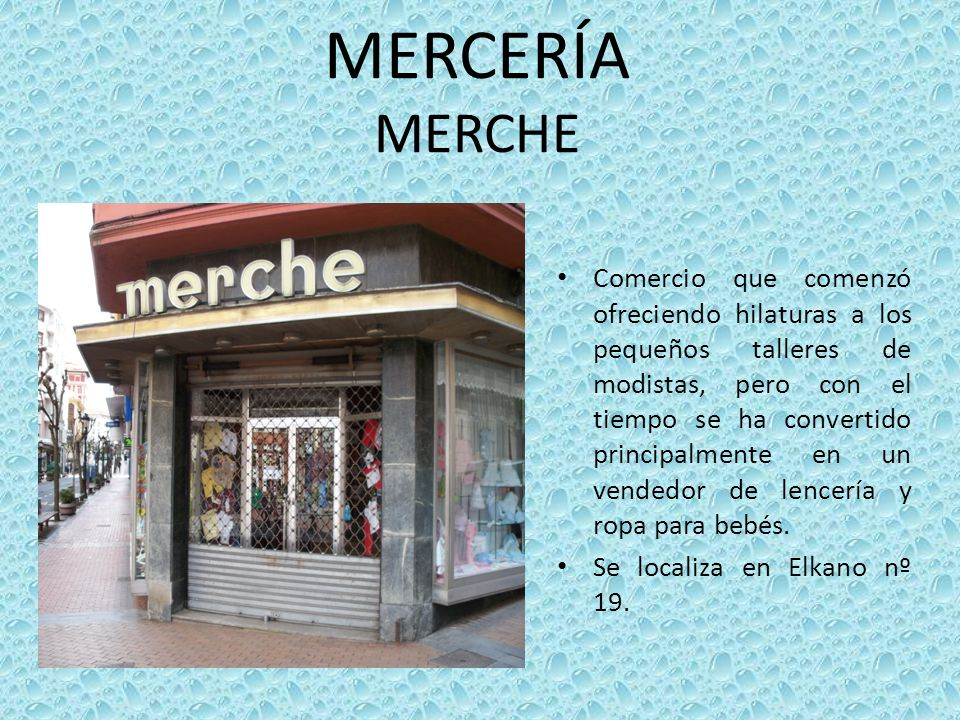 MERCERÍA MERCHE