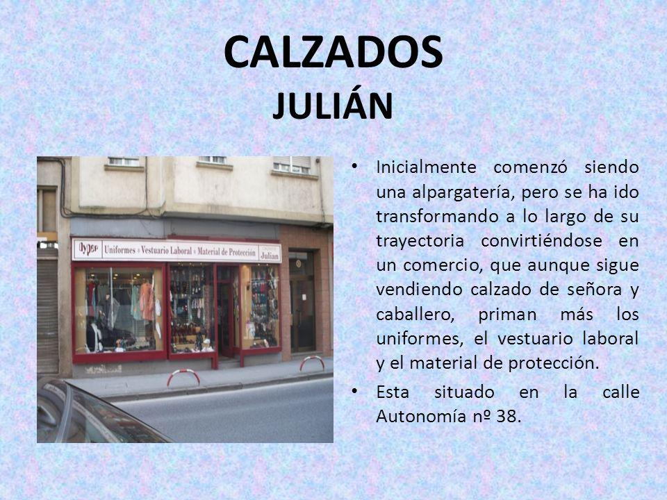 CALZADOS JULIÁN