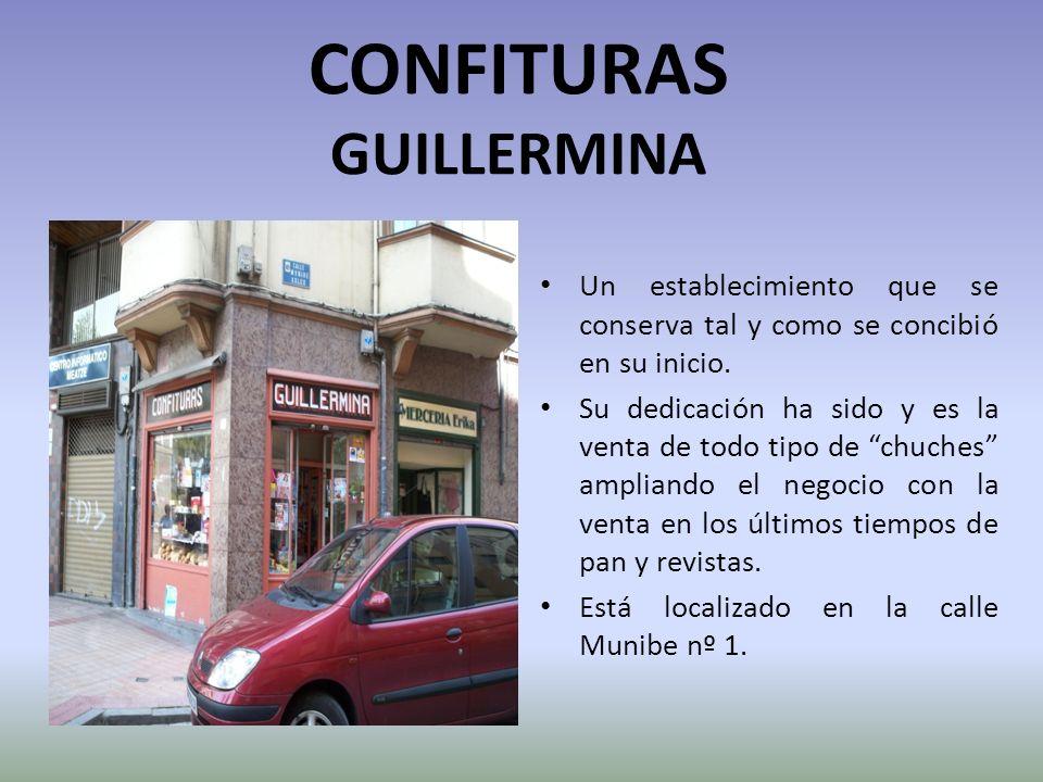 CONFITURAS GUILLERMINA