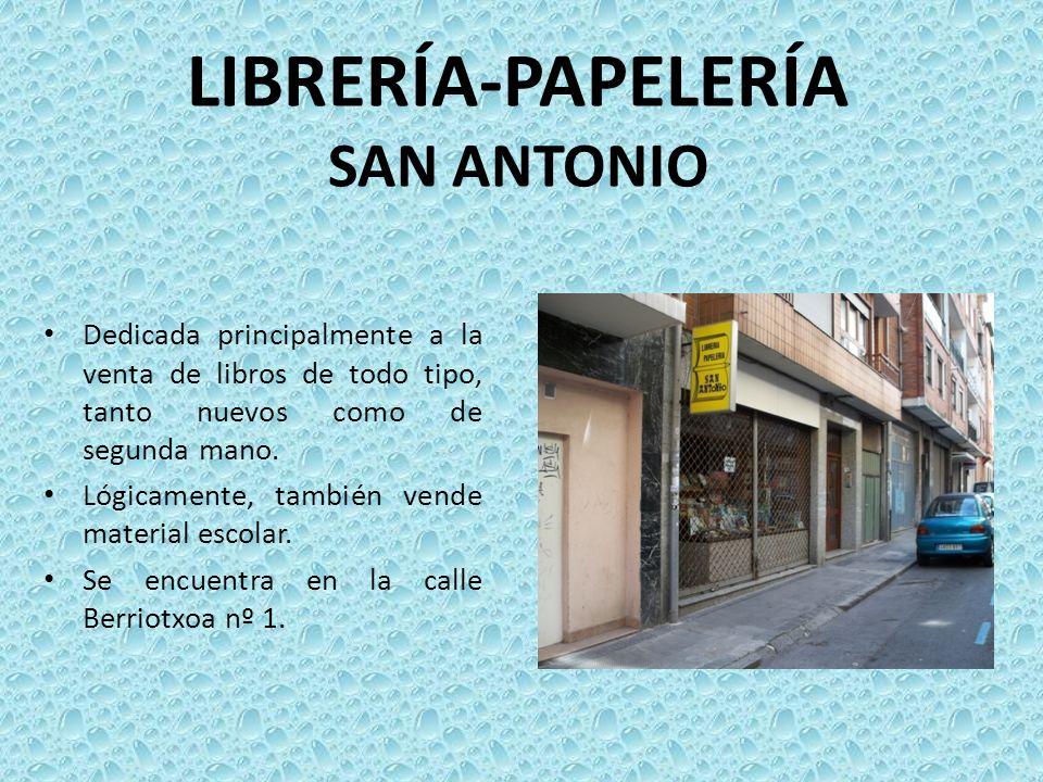 LIBRERÍA-PAPELERÍA SAN ANTONIO