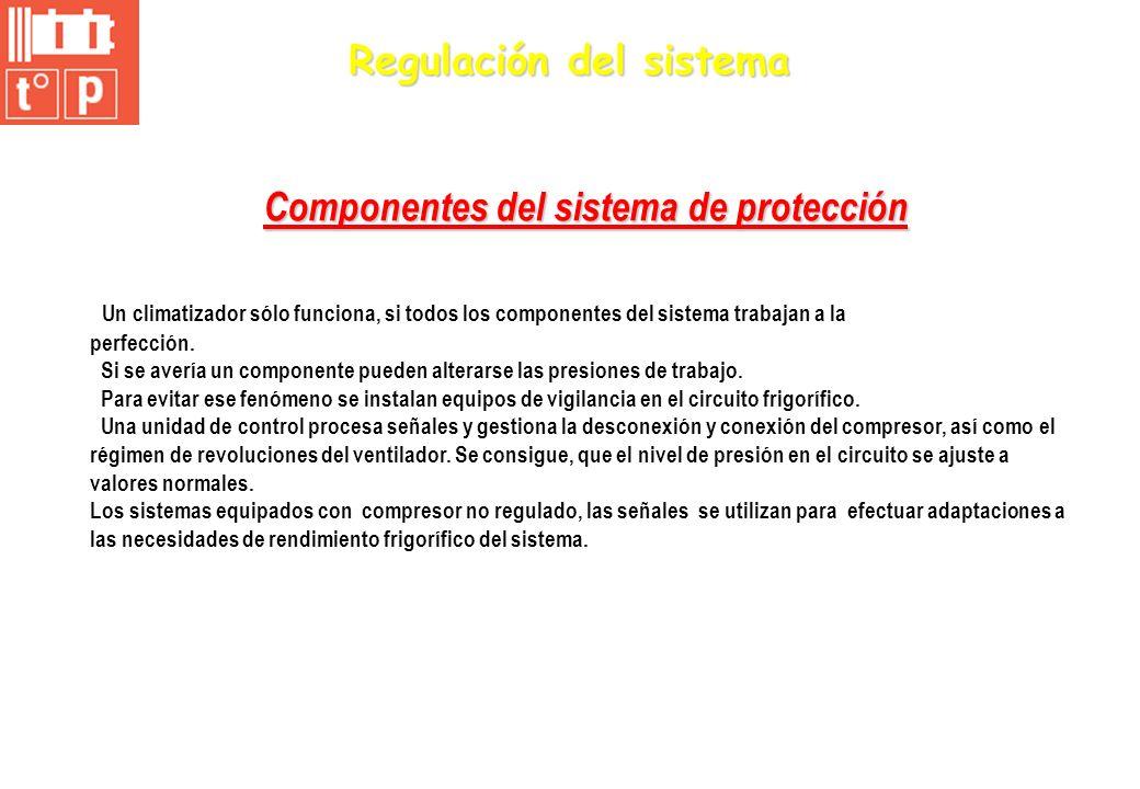 Componentes del sistema de protección