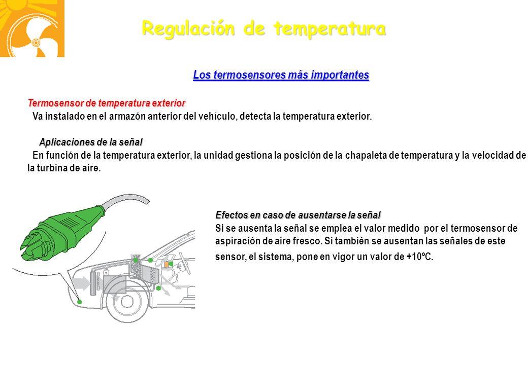 Los termosensores más importantes