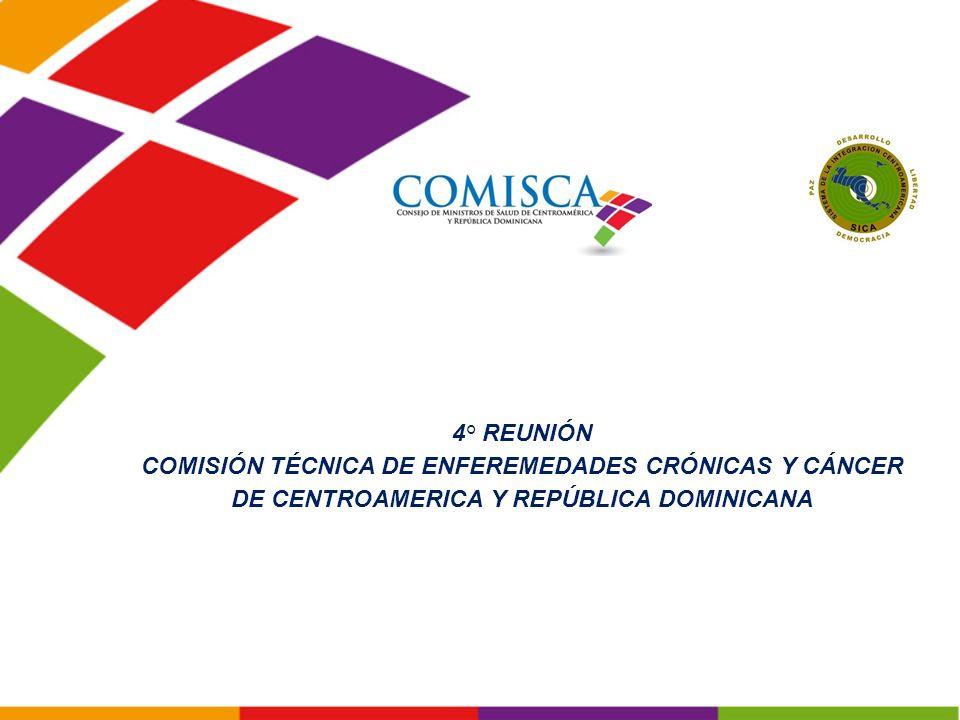 COMISIÓN TÉCNICA DE ENFEREMEDADES CRÓNICAS Y CÁNCER