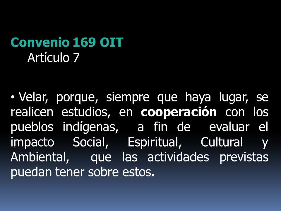 Convenio 169 OITArtículo 7.
