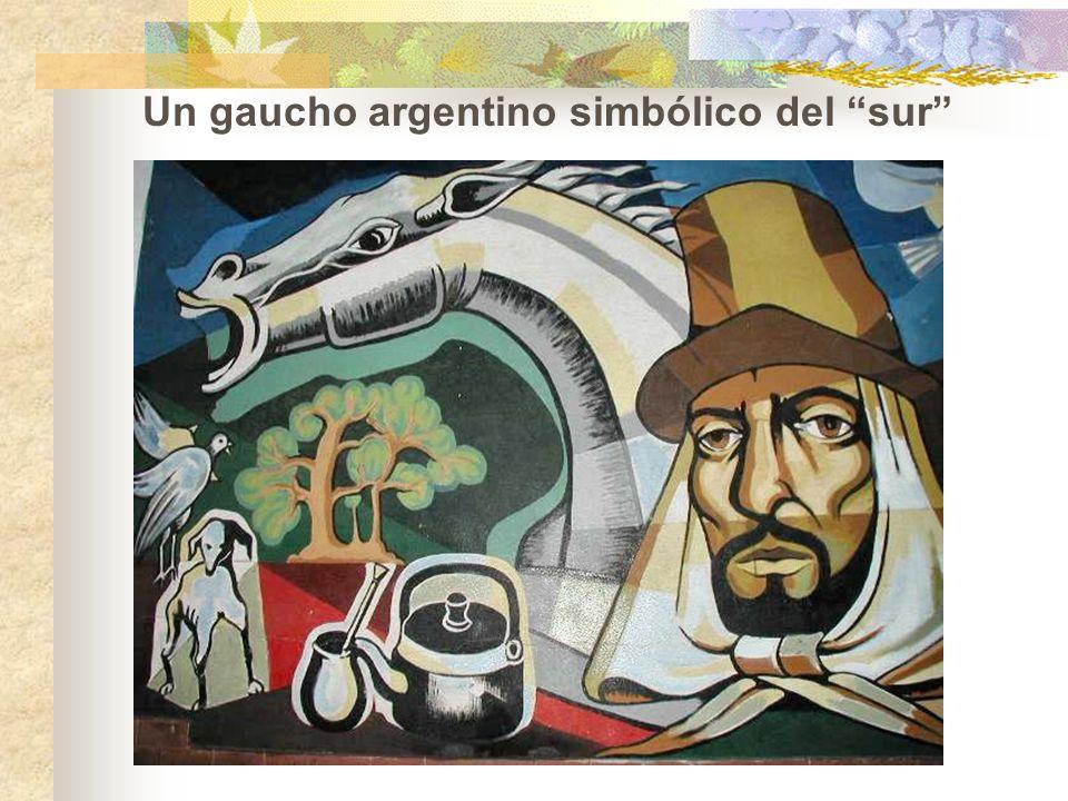 Un gaucho argentino simbólico del sur
