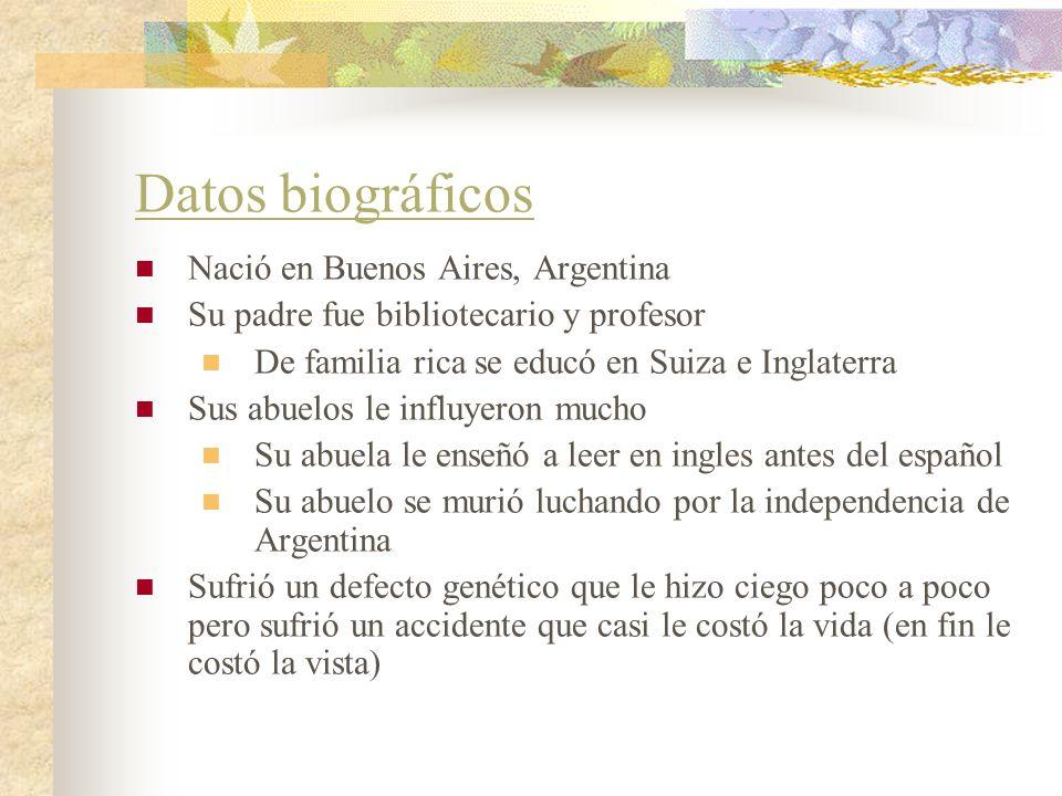 Datos biográficos Nació en Buenos Aires, Argentina