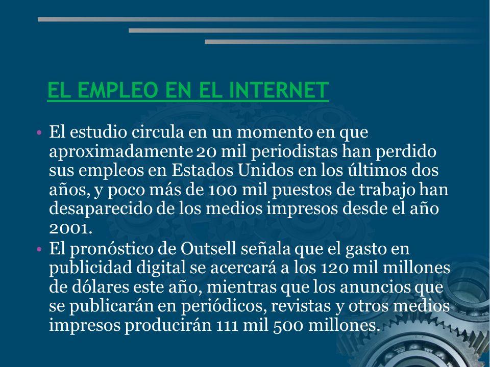 EL EMPLEO EN EL INTERNET