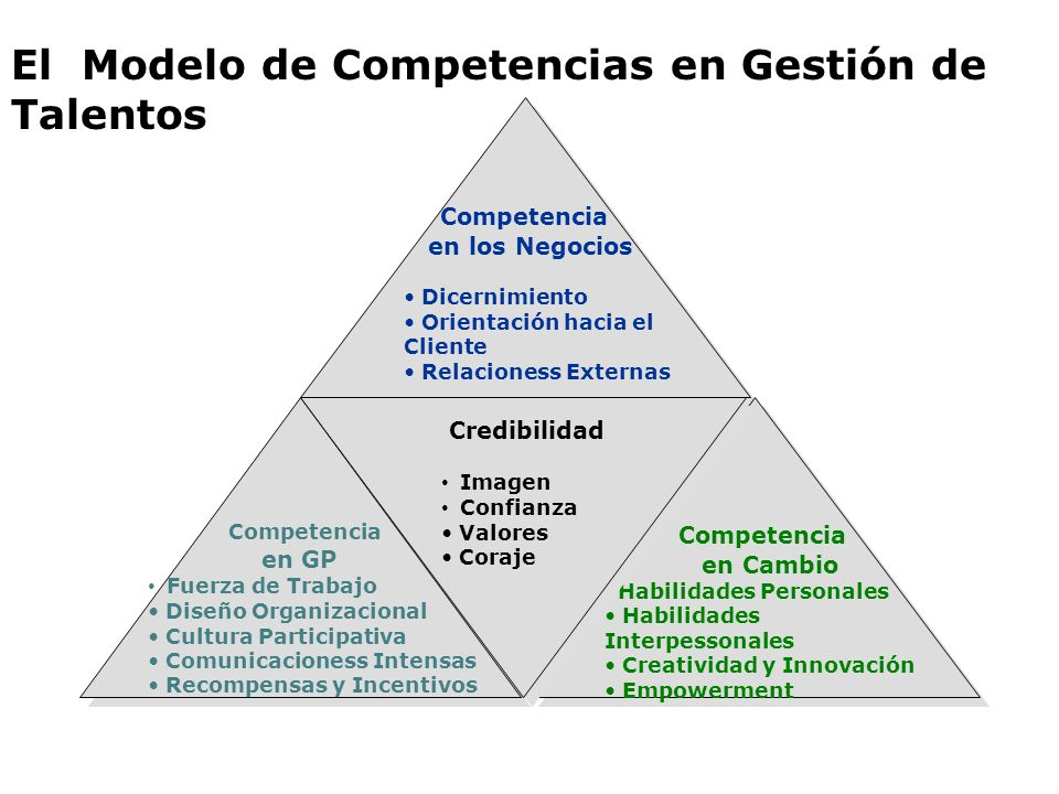 El Modelo de Competencias en Gestión de Talentos