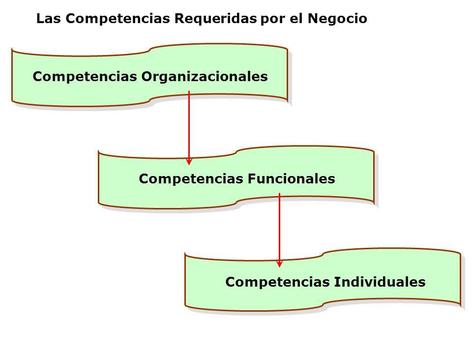 Las Competencias Requeridas por el Negocio