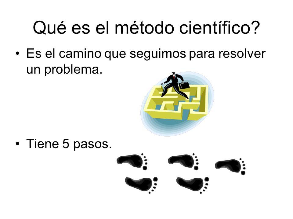 Qué es el método científico