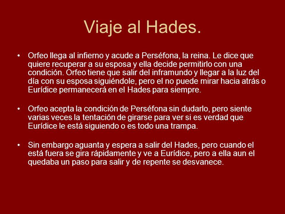 Viaje al Hades.