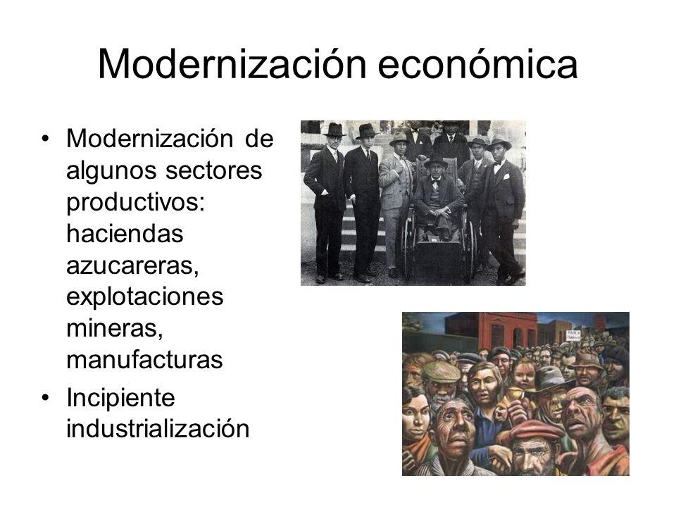 Modernización económica