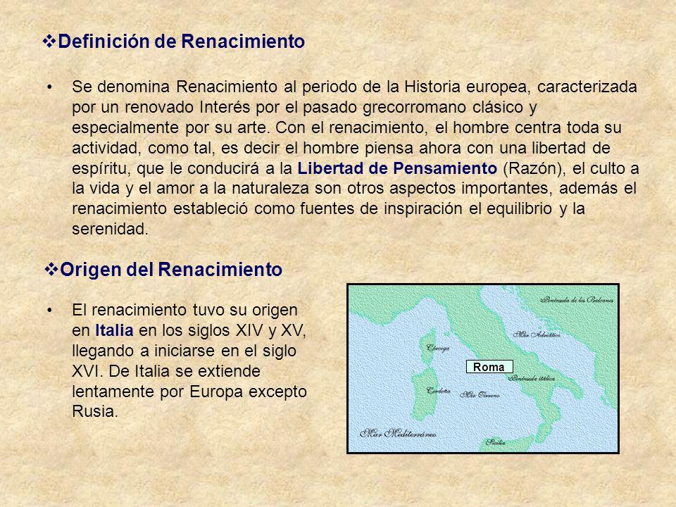 Definición de Renacimiento
